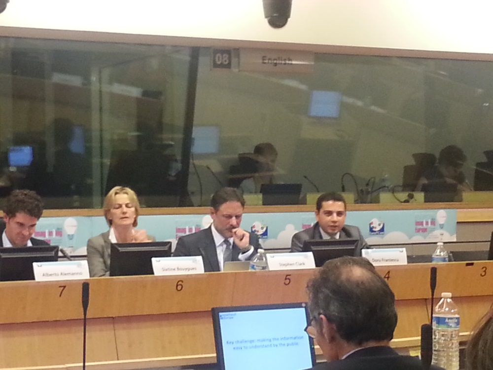 Doru Frantescu at the Committee of the Regions