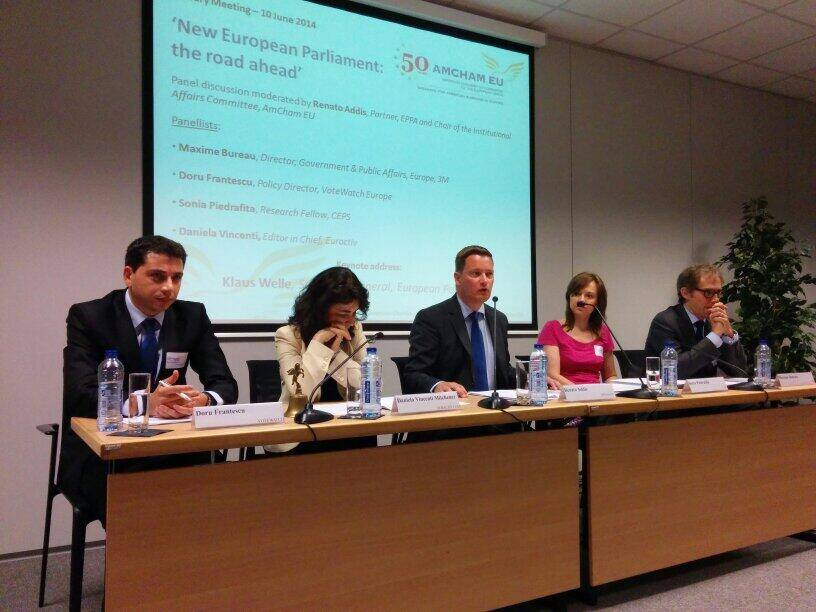 Doru Frantescu at the AmCham EU