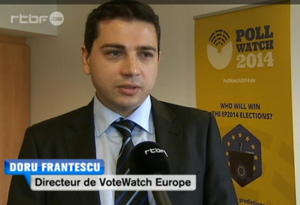 Doru Frantescu in Belgian RTBF