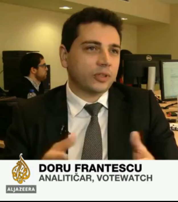 Doru Frantescu in Al Jazeera