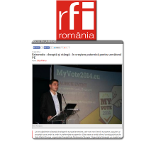 Doru Frantescu in RFI Romania
