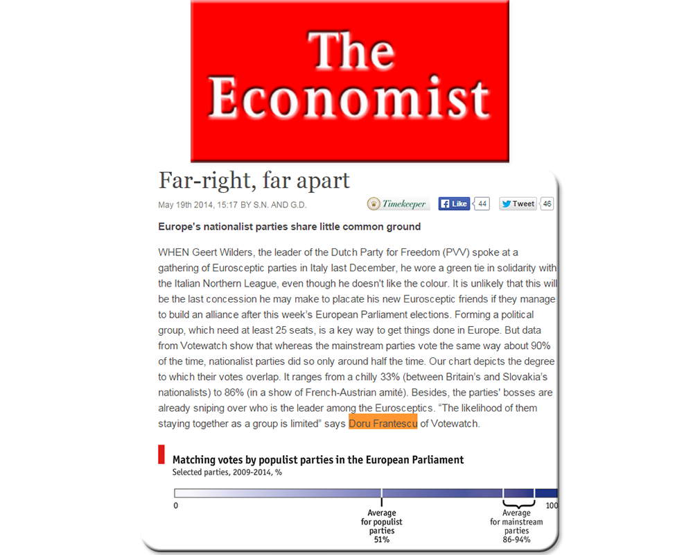 Doru Frantescu in The Economist